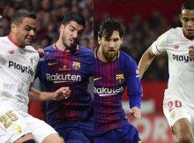 El Sevilla debe frenar a las figuras culés