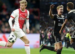 De Jong, la gran estrella del Ajax