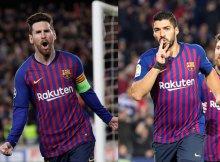 El Barsa tiene dinamita arriba con Messi y Suárez