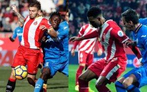 El Girona a pelear a muerte cada balón