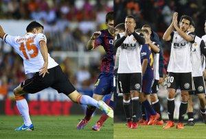 El Valencia a jugar como equipo y a frenar a Messi