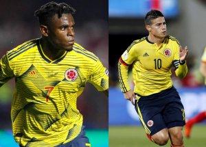 Zapata y James son las estrellas de Colombia