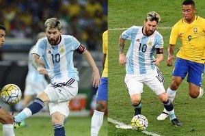 No lo tendrá fácil Messi ante la defensa brasileña