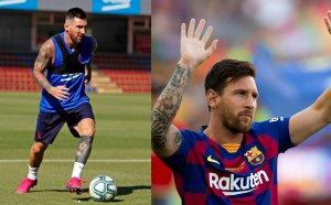 Los culés desean la vuelta de Messi al once titular