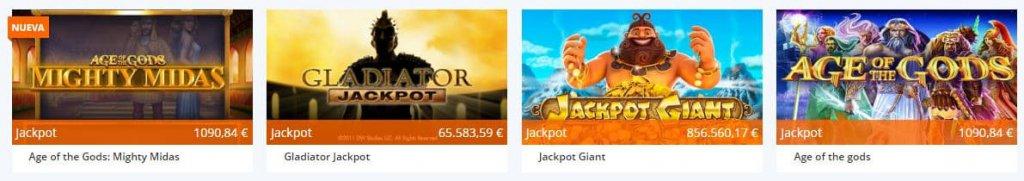 jackpots casino betsson