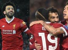 El tridente del Liverpool sigue en forma