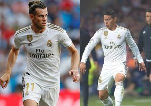 Bale y James, las ausencias
