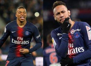 Neymar y Mbappé, bajas en el PSG