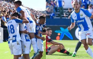 El Leganés viene de lograr la primera victoria en liga