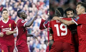 El tridente del Liverpool sigue arrasando