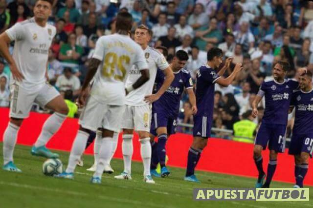 El Valladolid empató esta temporada en el Bernabeu