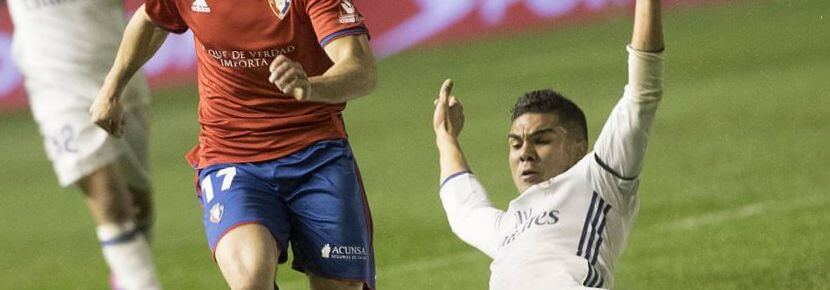 Osasuna vs Real Madrid Liga Santander