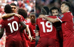 El ataque del Liverpool es temible