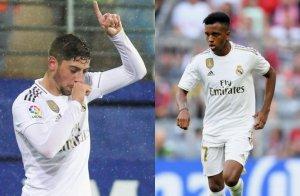 Valverde y Rodrygo, las nuevas estrellas blancas