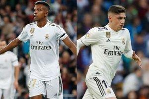 Valverde y Rodrygo, las nuevas esperanzas blancas