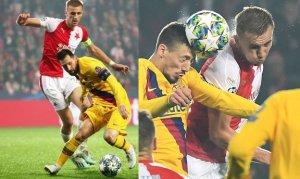 El Slavia deberá frenar el juego del Barsa