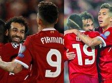 El tridente del Liverpool continúa en plena forma