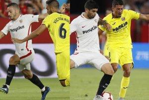 El Villarreal debe frenar a las figuras sevillistas
