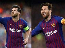 Messi llega en plena forma al partido