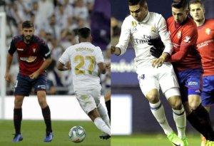 El Osasuna debe frenar el juego ofensivo blanco