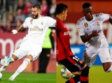 Benzema y Vinicius en forma, pueden decidir el partido