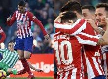 El Atlético a defender su tercer puesto