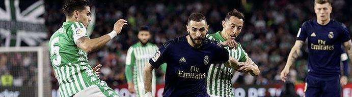 betis vs real madrid 2019-20