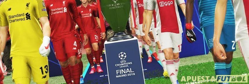Partido Ajax vs Liverpool Champions League