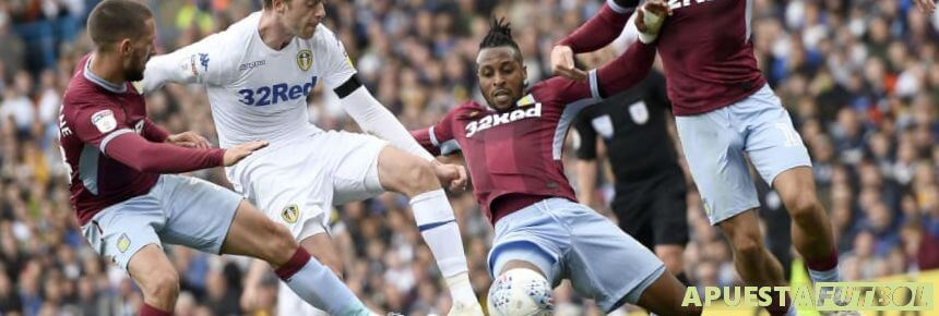 El último partido entre Aston Villa vs Leeds United