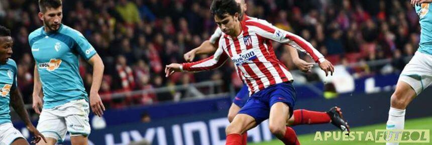 Partido anterior entre Osasuna y Atletico de Madrid de la Liga Santander