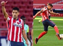 Luis Suárez es la referencia en ataque del Atleti