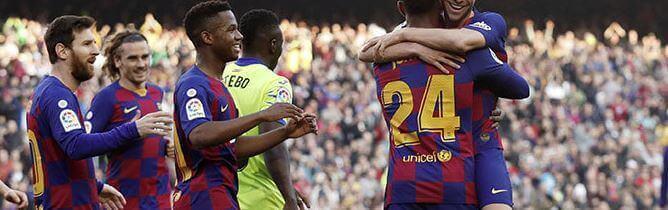 barcelona getafe 19-20