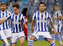 La Real defiende el liderato ante el Huesca