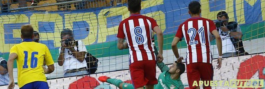 Partido Atletico vs Cadiz en Liga