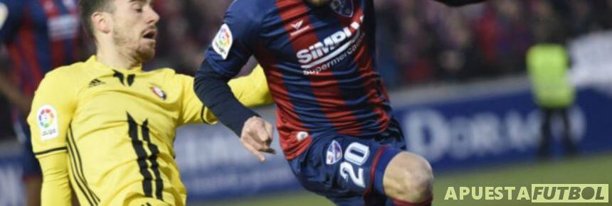 Partido entre Osasuna y Huesca Liga SmartBank