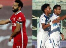 Jugando Atalanta contra Liverpool