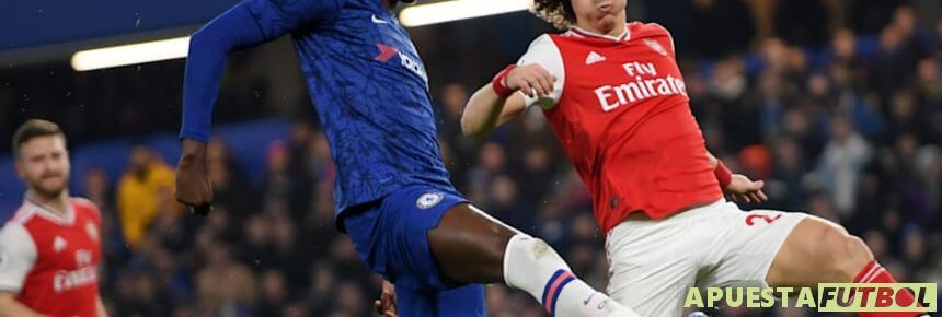Partido entre Arsenal y Chelsea de la Premier League