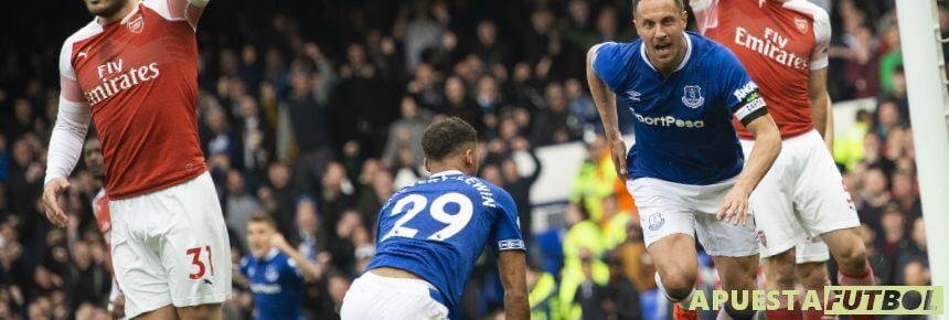 Everton vs Arsenal de la Premier League