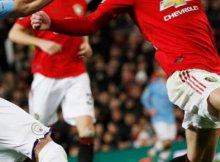 Partido de Premier entre United y City - Derby de Manchester
