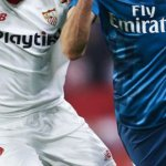 Enfrentamiento en Liga Santander entre Sevilla y Real Madrid