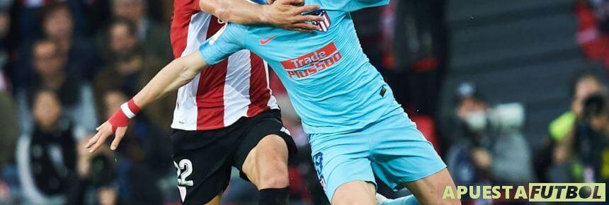 Partido entre Atletico y Athletic de Liga Santander