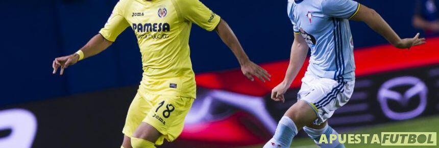 Jugada del partido de la temporada pasada de Liga Santander entre Celta y Villarreal