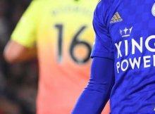 Leicester y Southampton en un partido de la Premier League