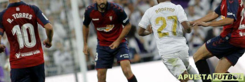 Osasuna vs Real Madrid en Liga Santander