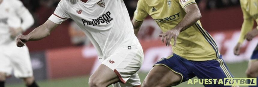 Partido Sevilla vs Cadiz de años anteriores
