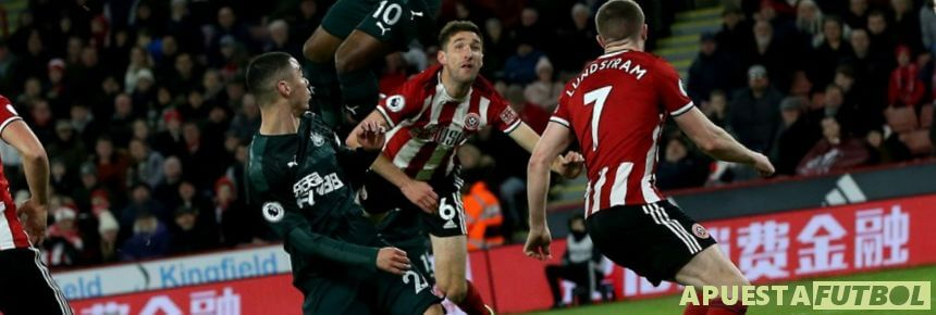 Sheffield United vs Newcastle de la Premier League
