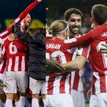 El Athletic eufórico tras ganar la Copa de la liga