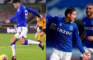 James Rodríguez, ya es el líder del Everton