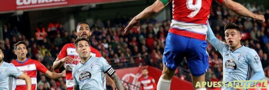 Partidos de Granada y Celta de la Liga Santander