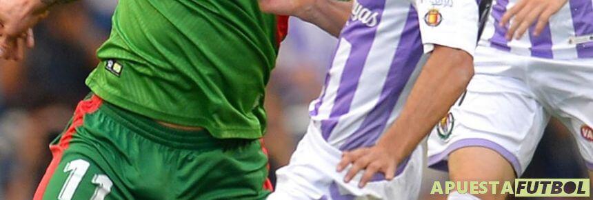 Enfrentamiento entre Alaves y Real Valladolid de Liga Santander